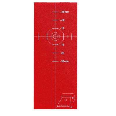 PMA 51 Multi-Directional Laser Target Plate (3-Piece)