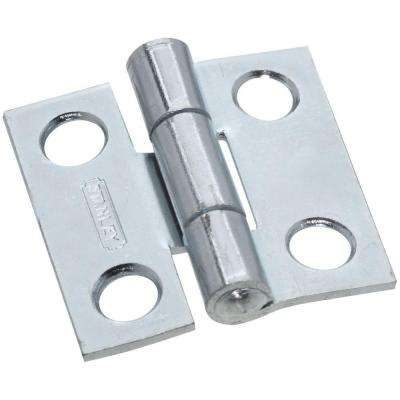 1 in. Narrow Utility Hinge Non-Removable Pin