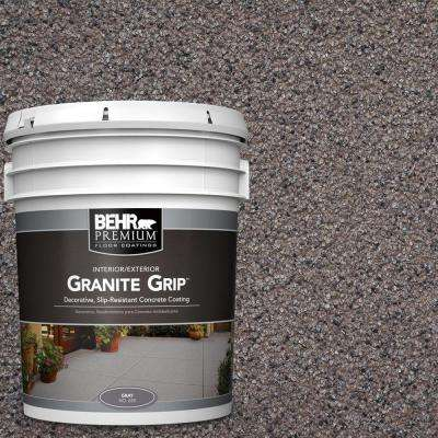 5 gal. #GG-03 Atlantic Topaz Granite Grip Decorative Concrete Floor Coating