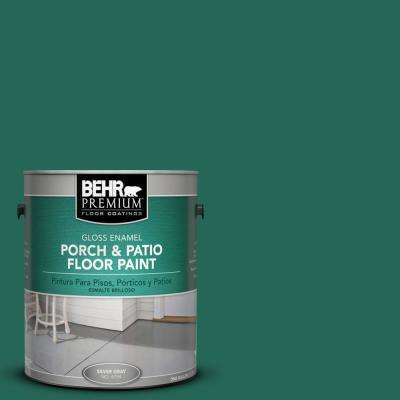 1 gal. #S-H-480 Forest Rain Gloss Porch and Patio Floor Paint