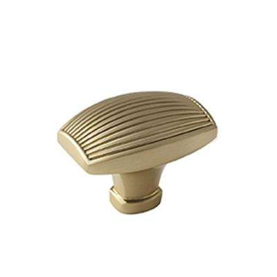 Sea Grass 1-3/4 in. (44 mm) Brushed Bronze Cabinet Knob