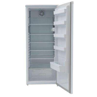 Designer 24 in. W 11.0 cu. ft. Freezerless Refrigerator in White, Counter Depth