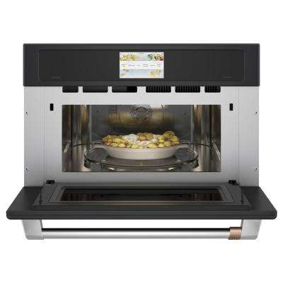 1.7 cu. Ft. Built-In Convection Microwave in Matte Black