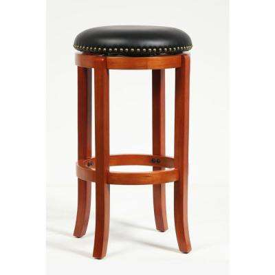 29 in. Cordova Swivel Stool in Es Cherry-DISCONTINUED