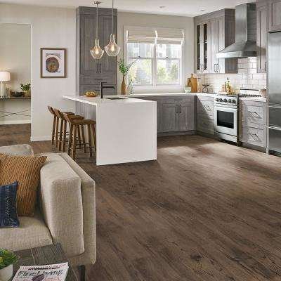 American Home Bronzed Roots 6.5 in. x 48 in. Glue Down Luxury Vinyl Plank (34.66 sq. ft. / case)