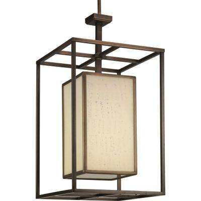 Haven Collection 1-Light Copper Bronze Foyer Pendant