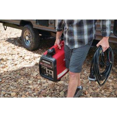 2,200-Watt Super Quiet Gasoline Powered Portable Inverter Generator with Eco-Throttle and Oil Alert