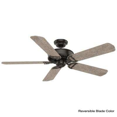 Panama 54 in. Indoor Noble Bronze Ceiling Fan