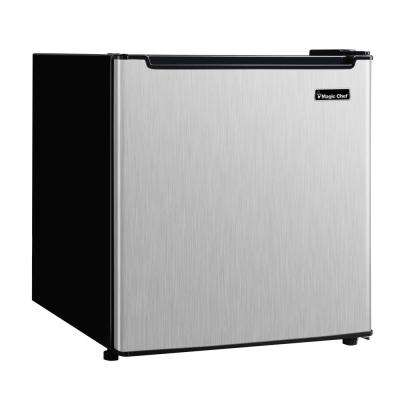 1.7 cu. ft. Freezerless Mini Refrigerator in Stainless Steel