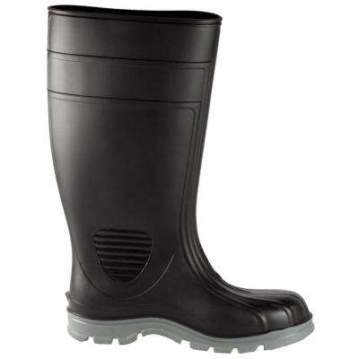 Men's Black Poultry Tuff Industrial Steel Toe PVC Boot