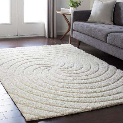 Page Cream 8 ft. x 10 ft. Area Rug