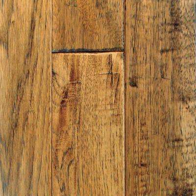 Hickory Vintage Barrel Solid Hardwood Flooring - 5 in. x 7 in. Take Home Sample