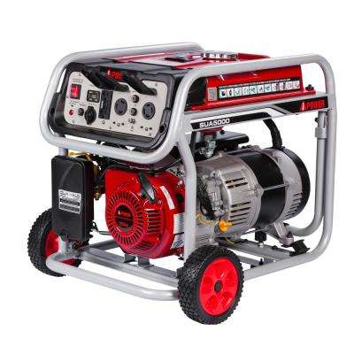 4,250-Watt Gasoline Powered Portable Generator