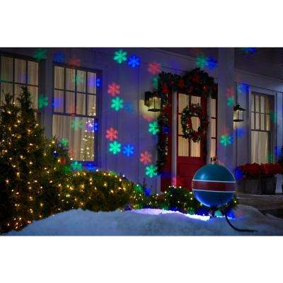 61 Effects Christmas LightShow Projection SnowFlurry with Remote-Snowflake