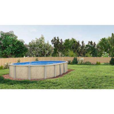Serenity Oval Pool Package 52 in. D