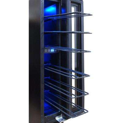7-Bottle Mirrored Wine Cooler