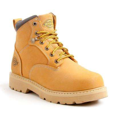 Ranger Men Wheat Soft Toe Leather Work Boot
