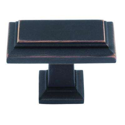 Sutton Place 1-7/16 in. Venetian Bronze Rectangle Cabinet Knob