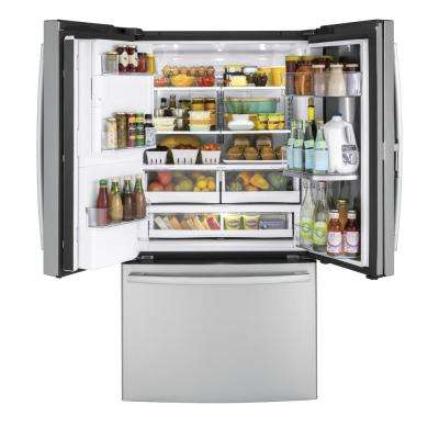27.8 cu. ft. French Door Refrigerator with Door-in-Door in Fingerprint Resistant Stainless Steel
