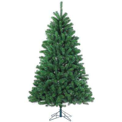 9 ft. Pre-Lit Grand Canyon Spruce Artificial Christmas Tree with Multi Lights