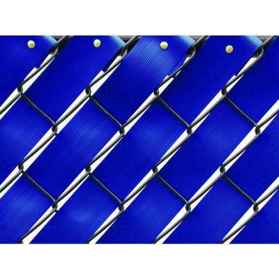 250 ft. Fence Weave Roll in Royal Blue