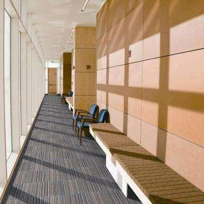 Crown Heights Seabed Loop 19.7 in. x 19.7 in. Carpet Tile (20 Piece/Case)