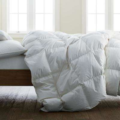 Medium Warmth Organic Cotton Down Comforter
