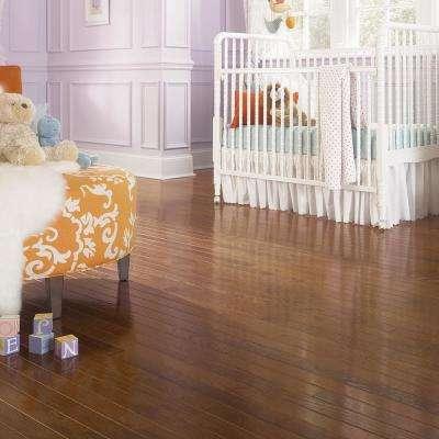 Oak Bourbon 3/4 in. Thick x 3 in. Wide x Random Length Solid Hardwood Flooring (18 sq. ft. / case)