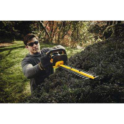 60-Volt MAX Lithium-Ion Cordless FLEXVOLT Brushless 16 in. Chainsaw w/ Bonus Bare 22 in. 20-Volt Cordless Hedge Trimmer