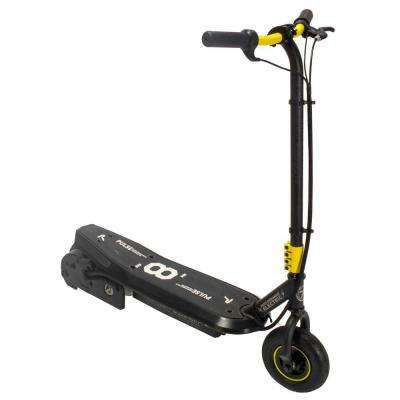 Sonic XL Electric Scooter in Black and Yellow