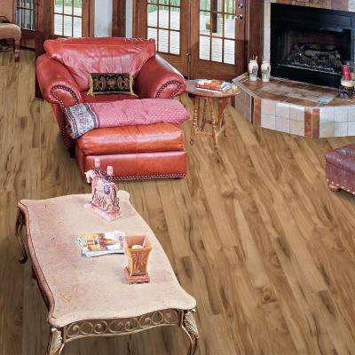 Sherwood Heights Denali Acacia 8 mm Thick x 7.6 in. Wide x 50.79 in. Length Laminate Flooring (21.44 sq. ft. / case)