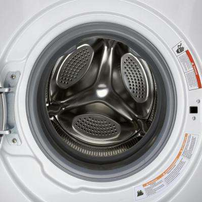 2.0 cu. ft. All-in-One Washer and Ventless Electric Dryer in White