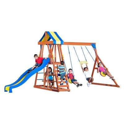 Yukon III All Cedar Playset