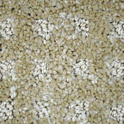 Carpet Sample - Fancy Flair - Color Winston Pattern 8 in. x 8 in.