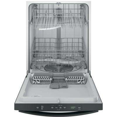 Top Control Dishwasher in Stainless Steel with Steam Prewash