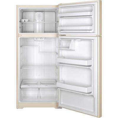 15.5 cu. ft. Top Freezer Refrigerator in Bisque, ENERGY STAR