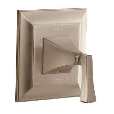 Memoirs 1-Handle Thermostatic Valve Trim Kit in Vibrant Brushed Bronze (Valve Not Included)