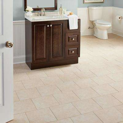 Island Sand Beige 16 in. x 16 in. Ceramic Floor and Wall Tile (15.5 sq. ft. / case)