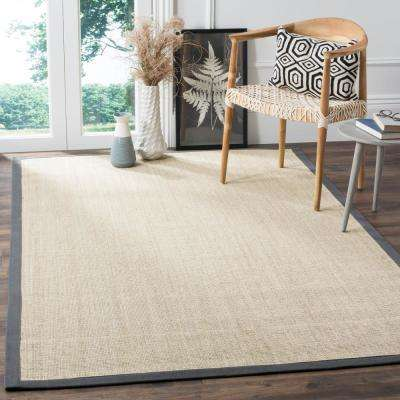 Natural Fiber Marble/Grey 10 ft. x 10 ft. Square Area Rug