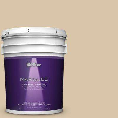5 gal. #MQ2-23 Almond Butter One-Coat Hide Eggshell Interior Paint
