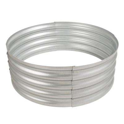 Infinity 36 in. Galvanized Fire Ring