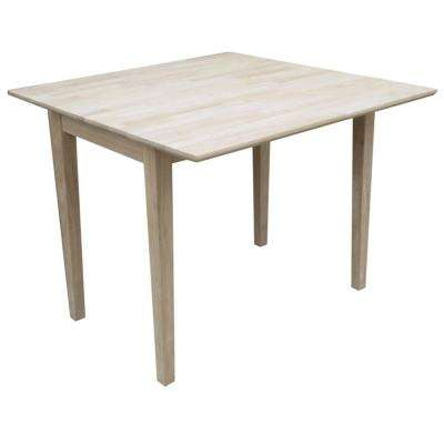 40 in. Dual Drop Leaf Square Dining Table