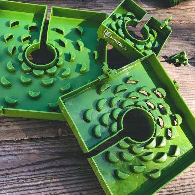 FloraCap 6 in. Green Plastic Block Cover (10-Pack)