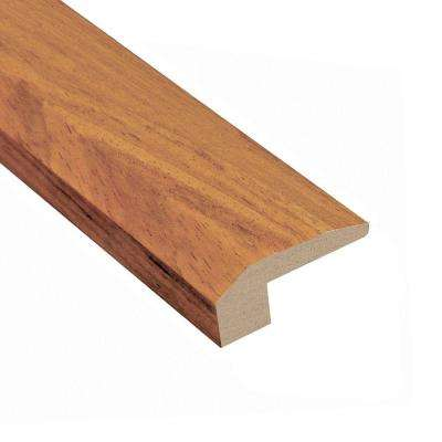 Brazilian Tigerwood 3/4 in. Thick x 2-1/4 in. Wide x 78 in. Length Hardwood Carpet Reducer Molding