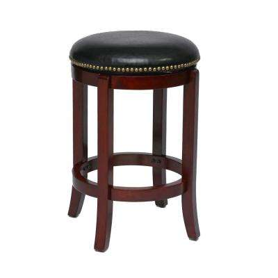 Cordova 24 in. Cherry Barstool