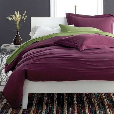 Jersey Knit Cotton Duvet Cover