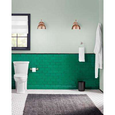 Emerald Green 3 in. x 6 in. x 8 mm Glass Subway Tile (5.5 sq. ft./case)