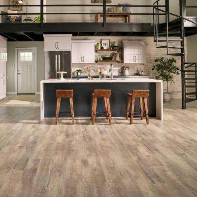 Outlast+ Southport Oak 10 mm Thick x 6-1/8 in. Wide x 47-1/4 in. Length Laminate Flooring (967.2 sq. ft. / pallet)