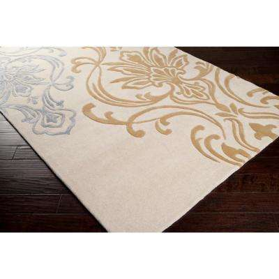 Clovis Sepia 3 ft. x 8 ft. Indoor Runner Rug