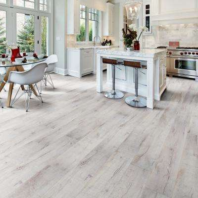 Textured Shadow Oak 8 mm Thick x 7.64 in. Wide x 47.80 in. Length Laminate Flooring (30.42 sq. ft. / case)